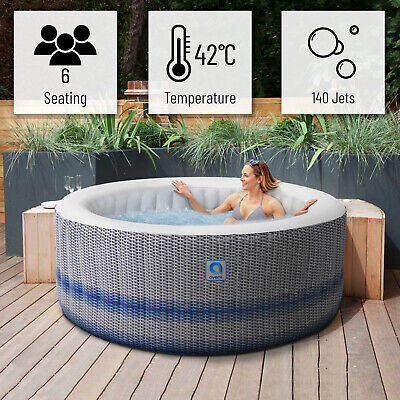 £595 • Buy HOT TUB 6 PERSON AVENLI VENICE Spa LARGE 957 Liter JACUZZI With 140 Jets
