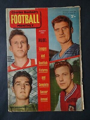 £3.75 • Buy Charles Buchan's Football Monthly August 1962 Issue No.132