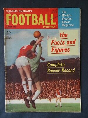 £4.25 • Buy Charles Buchan's Football Monthly August 1963 Issue No.144 - Manchester United