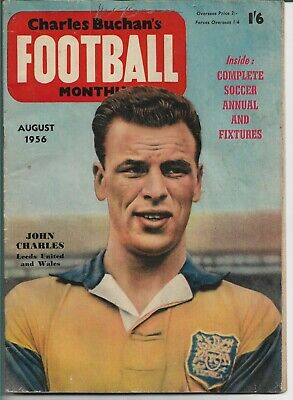 £5.75 • Buy Charles Buchan's Football Monthly Aug 1956 No.60 - Manchester United,