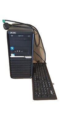 £25 • Buy Acer Veriton M290 Tower PC And Keyboard
