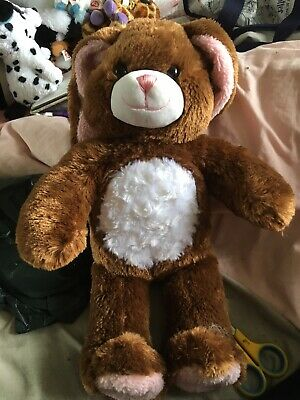 £8 • Buy Build A Bear Brown & Pink Easter Bunny Rabbit