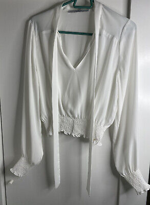 £5.50 • Buy GUESS White Top M Size
