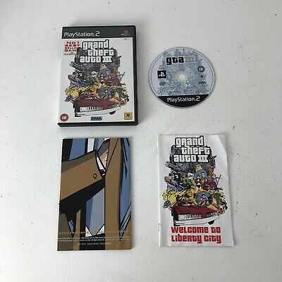 £4.99 • Buy PS2 Grand Theft Auto III   PlayStation 2  WITH  MANUAL AND MAP