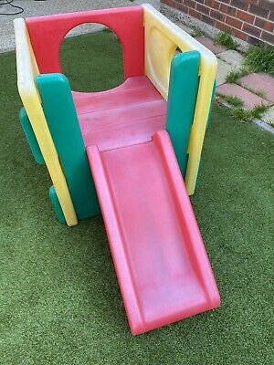 £17 • Buy Little Tikes Multi Coloured Cube Climbing Frame And Slide