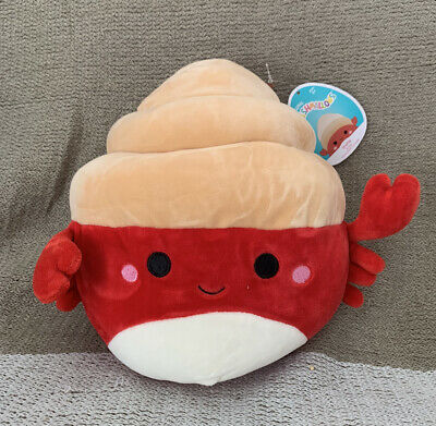"""$ CDN21.86 • Buy NEW Squishmallow Indie The Hermit Crab 8"""" Plush NWT Summer Squad RARE"""