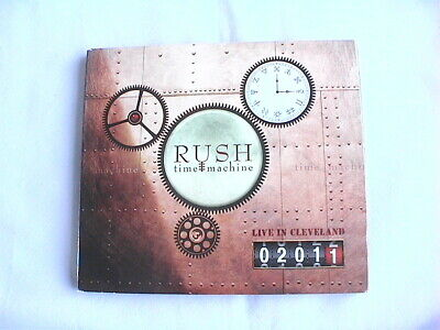£1.99 • Buy Rush  Time Machine  Live In Cleveland 2011 2x Cd Album Fold Out Card Sleeve