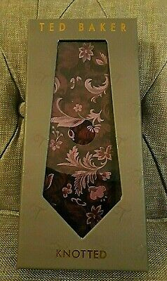 £20.99 • Buy **** New Ted Baker 100% Silk Boxed Tie ****