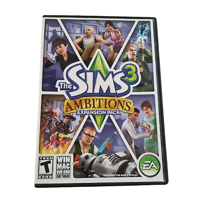 £7.07 • Buy The Sims 3 Ambitions PC Game Complete Windows Mac 2010 Expansion