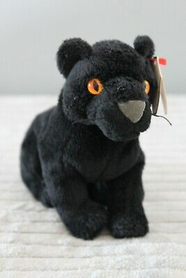 £3 • Buy TY Beanie Babies -  MIDNIGHT THE PANTHER - RETIRED - Collectable Toy Gift Teddy