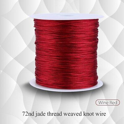 £4.47 • Buy Chinese Knot Cord Round Made Of High-quality Nylon Material Flexible For Home