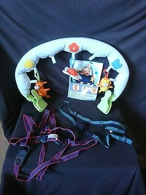 £9.99 • Buy Babyplay Activity Arch For Pushchairs B.n&clippasafe Harness&reins&wrist Link St