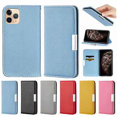AU11.99 • Buy For IPhone 12 11 Pro Max XR XS 8 Plus 7 6s Flip Leather Wallet Stand Case Cover
