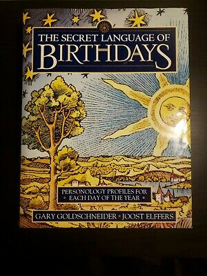 £27.76 • Buy The Secret Language Of Birthdays: Personology Profiles For Each Day Hardcover