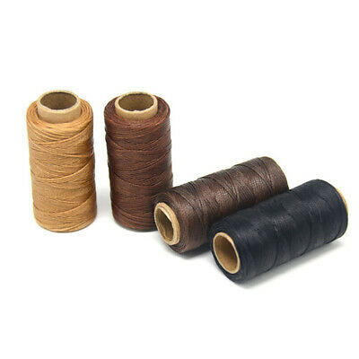 £4.19 • Buy Meters Leather Waxed Thread Cord For DIY Handicraft Tool Hand Stitching Thread@