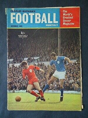 £3.75 • Buy Charles Buchan's Football Monthly November 1965 Issue No.171 - Derby County