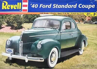 £10 • Buy Revell '40 Ford Standard Coupe 1:25 Scale 85-2387 Model Kit
