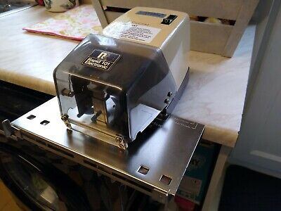 £85 • Buy Vintage Heavy Duty Rapid 101 Electronic Booklet Stapler + Foot Pedal