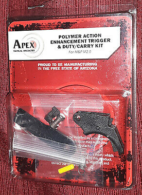 $115 • Buy APEX Polymer Action Enhancement Trigger & Duty/Carry Kit Smith & Wesson M&P M2.0