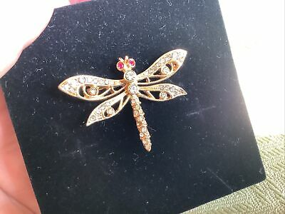 £1.50 • Buy Atwood &Sawer  Dragonfly Brooch
