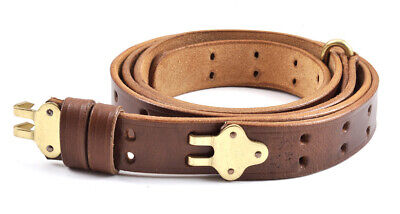 $26.99 • Buy M1907 LEATHER RIFLE SLING M1 GARAND SPRINGFIELD Premium Drum Dyed Leather