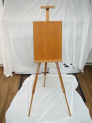 £63.95 • Buy MABEF Tripod Field Easel Plein Air Wooden Adjustable Made In Italy EXCELLENT