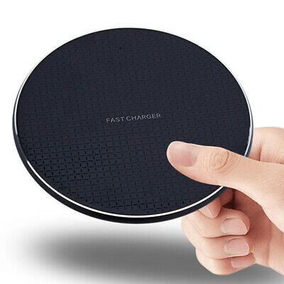 $ CDN6.59 • Buy Qi Wireless Fast Charger Charging Pad Dock For XS XR S9+/S9 Android Cell P P3