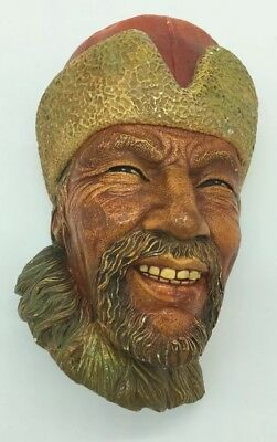£15.94 • Buy Vintage Bossons Himalayan Face Head England Chalkware