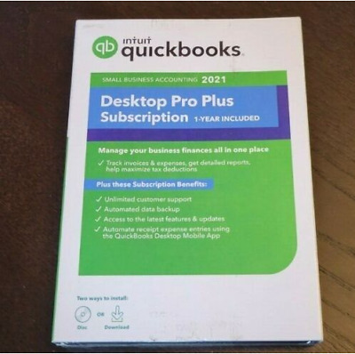 £79.29 • Buy Quickbooks Desktop Pro 2021 Accounting Software Lifetime Licence