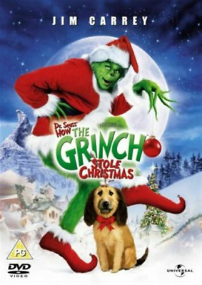 £3.24 • Buy How The Grinch Stole Christmas DVD Comedy (2004) Jim Carrey New