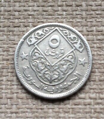 £1.49 • Buy 1948 Middle East Arabic 5 Piastres Coin