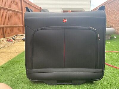 £40 • Buy Wenger Suit Carrier, Black, With Wheels And Handle