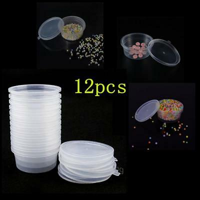 AU12.59 • Buy 12 Pc Slime Storage Containers Foam Ball Storage Cups Containers With Lids