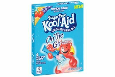 £4.93 • Buy Kool Aid On The Go Sugar Free Tropical Punch Drink Mix Singles