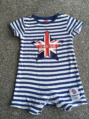 £0.99 • Buy Team GB Babygrow 6-9 Months Olympics Outfit