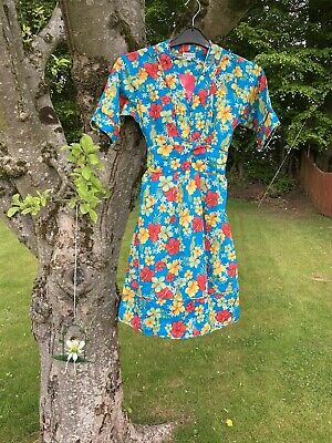 £7.99 • Buy Ladies Size Small,  Vintage Look Colourful Dress From Ruby Rocks