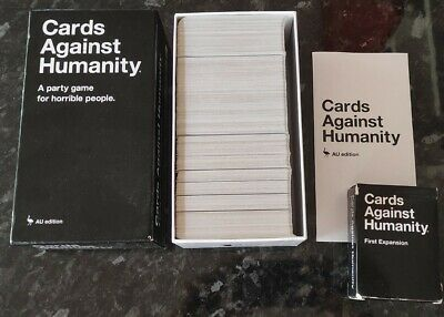 AU18.50 • Buy Cards Against Humanity Set Card Game Australian Edition Expansion Pack