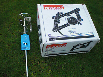 £229.99 • Buy Brand New Boxed Makita UT1400 Plaster Mixer 1050W 110v With Mixing Paddle