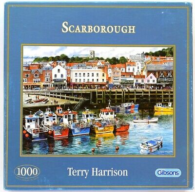 £7 • Buy Gibsons  'Scarborough'  1000 Piece Jigsaw Puzzle By Terry Harrison