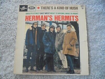 £3.99 • Buy Herman's Hermits - There's A Kind Of Hush 1967 FRANCE EP COLUMBIA