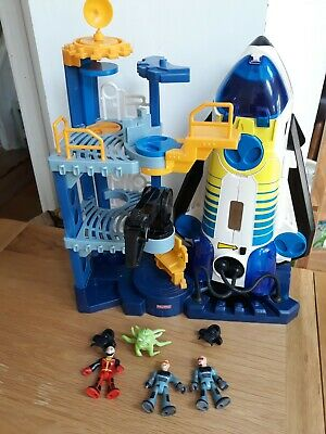 £5.99 • Buy Fisher Price Imaginext Rocket Shuttle Space Ship Station Launch Tower