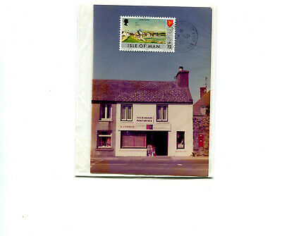 £4.99 • Buy Isle Of Man 1976 Four Roads, Port St Mary, Registered PO Photograph