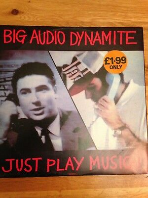 £2.99 • Buy Big Audio Dynamite Just Play Music From 1988