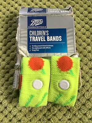 £0.99 • Buy Childrens Travel Bands From Boots To Prevent Travel Sickness.
