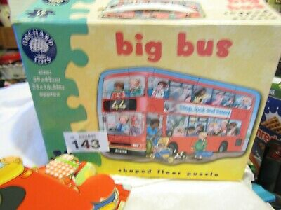 £3.99 • Buy Orchard Toys - Big Bus Puzzle