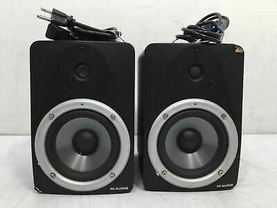 $21.50 • Buy Pair Of M-AUDIO Studiophile BX5 Studio Reference 70W Monitors - PARTS ONLY