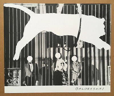 £71.95 • Buy JOHN BALDESSARI - TIGER WITH NO STRIPES 2017 Limited Edition Offset Lithograph