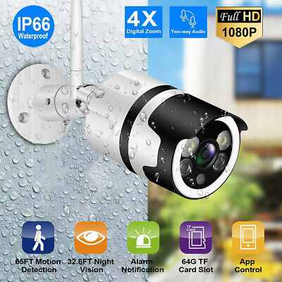 £24.99 • Buy 1080p CCTV Security IP Camera System HD Outdoor Wireless 2way Audio Home Safety