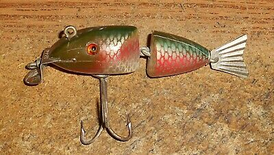 $ CDN58.09 • Buy Vintage Creek Chub #2505 Baby Wigglefish In Red Side/rare Lure/touch Color!