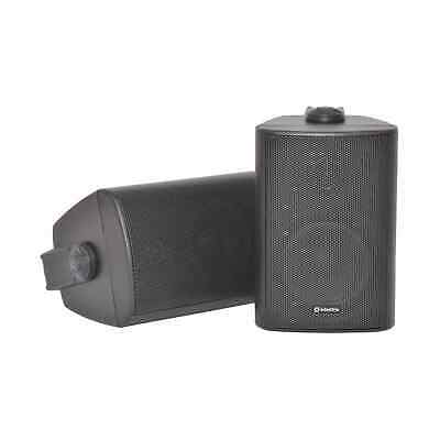 £36.50 • Buy Adastra BC3-B 3  Black Stereo Wall Speakers 60W/8 Ohm